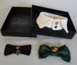 Воротничок с галстуком-бабочкой для дэнди
